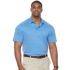 Big & Tall IZOD Title Holder Swingflex Regular-Fit Stretch Performance Golf Polo
