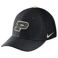 Adult Nike Purdue Boilermakers Aerobill Flex-Fit Cap