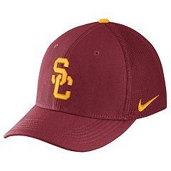 Adult Nike USC Trojans Aerobill Flex-Fit Cap