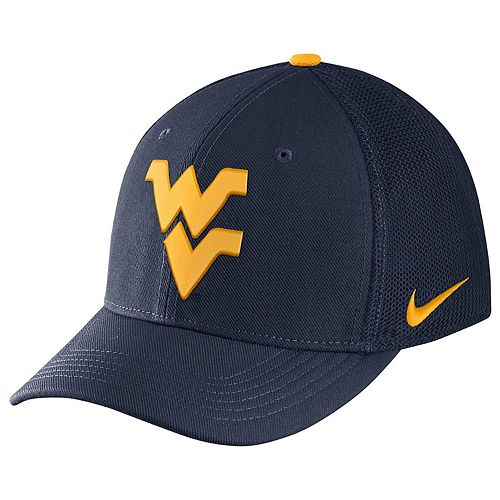 Adult Nike West Virginia Mountaineers Aerobill Flex-Fit Cap