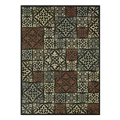 Maples Highland Celeste Ornate Patchwork Rug