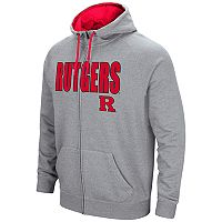 Men's Campus Heritage Rutgers Scarlet Knights Full-Zip Hoodie