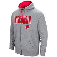 Men's Campus Heritage Wisconsin Badgers Full-Zip Hoodie
