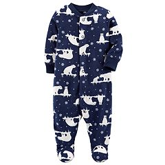 Baby Boy Carter's Print Microfleece Sleep & Play