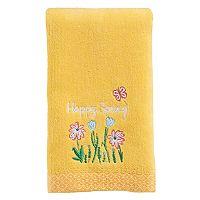 Celebrate Spring Together Happy Spring Fingertip Towel