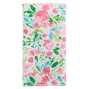 Celebrate Spring Together Watercolor Floral Hand Towel