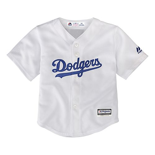 333003b32 Baby Majestic Los Angeles Dodgers Cool Base Replica Jersey