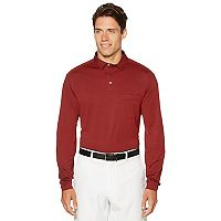 Men's Grand Slam MotionFlow 360 Regular-Fit Pocket Golf Polo