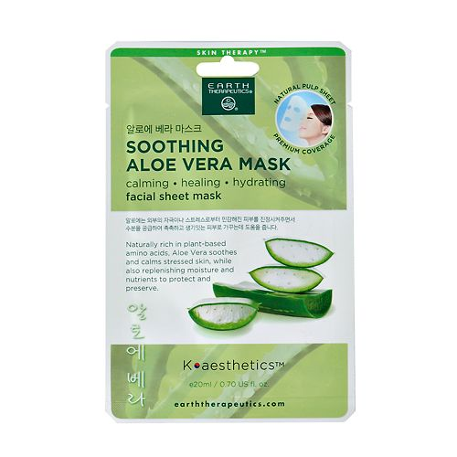Earth Therapeutics Soothing Aloe Vera Face Mask