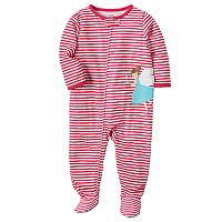 Baby Girl Carter's Applique Sleep & Play