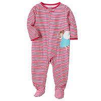 Baby Girl Carter's Applique Sleep & Play
