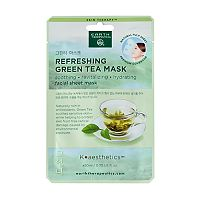 Earth Therapeutics Refreshing Green Tea Face Mask