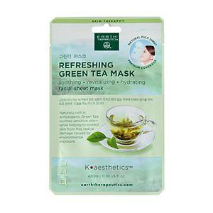 Earth Therapeutics Refreshing Green Tea Face Mask