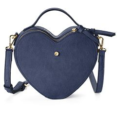 LC Lauren Conrad Love, Lauren Heart-Shaped Crossbody Bag