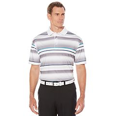 Men's Jack Nicklaus Regular-Fit StayDri Shadow-Striped Golf Polo