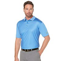 Jack Nicklaus Mens Regular-Fit StayDri Faded Geometric Golf Polo