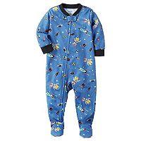 Baby Boy Carter's Fleece Sleep & Play