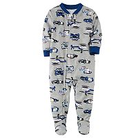 Toddler Boy Carter's One-Piece Footed Pajamas