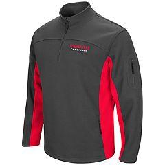 Men's Campus Heritage Louisville Cardinals Plow Pullover Jacket