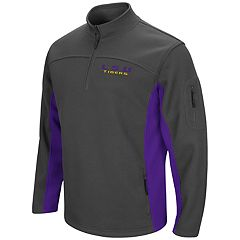 Men's Campus Heritage LSU Tigers Plow Pullover Jacket