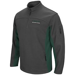 Men's Campus Heritage Michigan State Spartans Plow Pullover Jacket