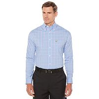 Men's Jack Nicklaus Regular-Fit StayMotion Glen Plaid Button-Down Shirt