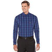 Men's Jack Nicklaus Regular-Fit StayMotion Plaid Button-Down Shirt
