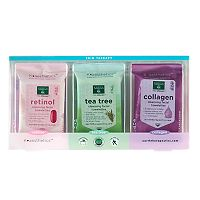 Earth Therapeutics 3-pk. Cleansing & Makeup Removing Facial Towelettes