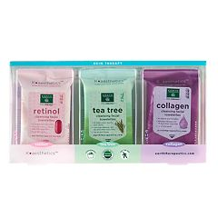 Earth Therapeutics 3 pkCleansing & Makeup Removing Facial Towelettes