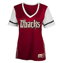 Girls 7-16 Majestic Arizona Diamondbacks Curveball Tee