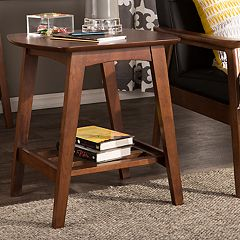 Baxton Studio Sacramento Mid-Century End Table