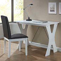 Baxton Studio Cary Modern Desk & Chair 2-piece Set