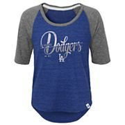 Girls 7-16 Majestic Los Angeles Dodgers Vintage Tee