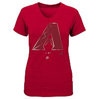 Girls 7-16 Majestic Arizona Diamondbacks Slider Tee