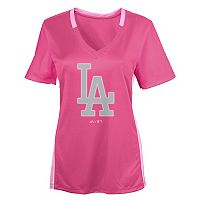 Girls 7-16 Majestic Los Angeles Dodgers The Best Team Tee