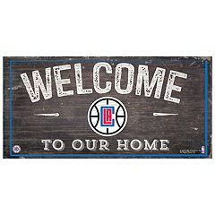 Los Angeles Clippers Welcome Sign Wall Art