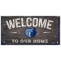 Memphis Grizzlies Welcome Sign Wall Art