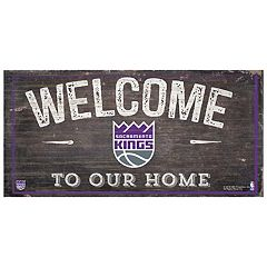 Sacramento Kings Welcome Sign Wall Art
