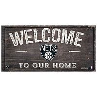 Brooklyn Nets Welcome Sign Wall Art