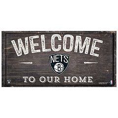 Brooklyn Nets Welcome Sign Wall Art