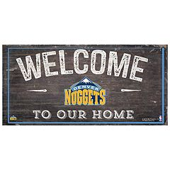 Denver Nuggets Welcome Sign Wall Art