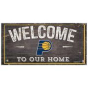 Indiana Pacers Welcome Sign Wall Art