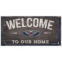 New Orleans Pelicans Welcome Sign Wall Art