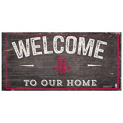 Houston Rockets Welcome Sign Wall Art