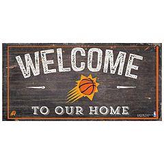 Phoenix Suns Welcome Sign Wall Art