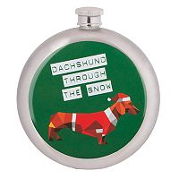 Wembley Dachshund Flask