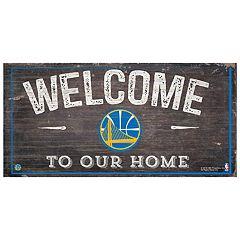 Golden State Warriors Welcome Sign Wall Art