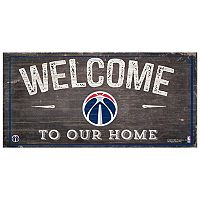 Washington Wizards Welcome Sign Wall Art