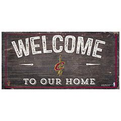Cleveland Cavaliers Welcome Sign Wall Art