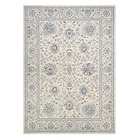 Couristan Sultan Treasures Persian Isfahan Framed Floral Rug